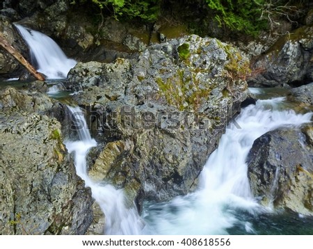 Washington National Forest, Cascade Country - stock photo