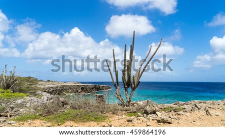 Washington Slagbaai National Park -Views around the Caribbean Island of Bonaire in the ABC Islands