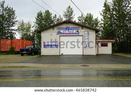 Wasilla Alaska 25 June 2016 Located Stock Photo Royalty Free