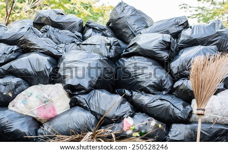 Waste and pollution - stock photo