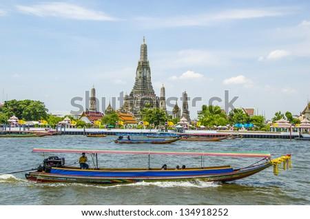 Wat Arun Bangkok, Thailand. - stock photo