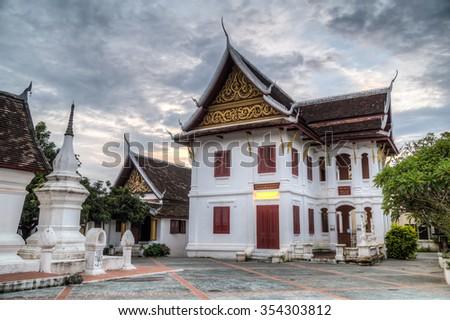 Wat Kili temple in Luang Prabang, Laos - stock photo