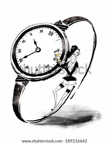 watch and woman
