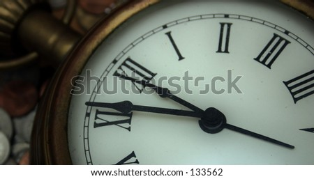 Watch Series: Is it time? - stock photo