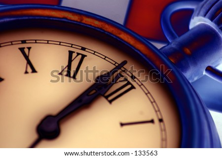 Watch Series: On time - stock photo