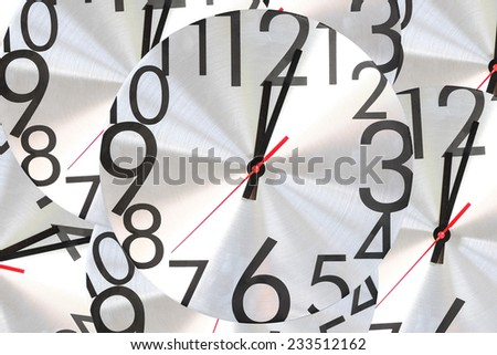 Watch stopwatch graphic element nested background. - stock photo
