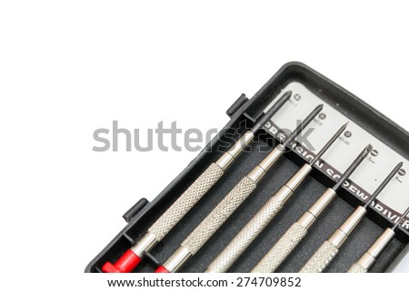 Watchmakers`screwdrivers sets