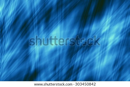 Water abstract blue nice ocean background - stock photo