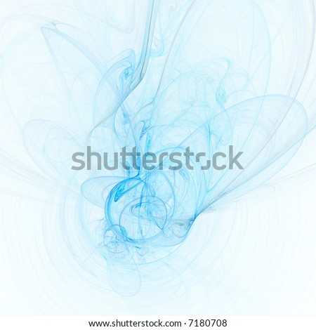 Water abstract on white background - stock photo