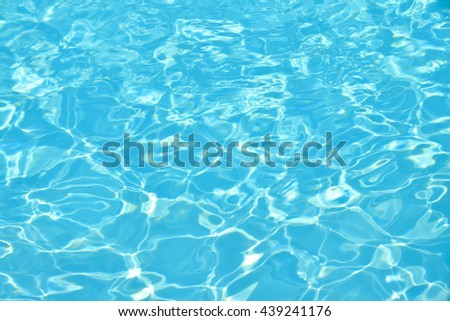 Water background, Swimming pool, Water detail,Blue water, Pool water, Water splash, Water pattern, Water texture. - stock photo