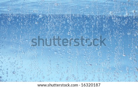 water background, texture - stock photo