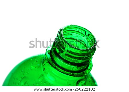 Water bottle isolated  - stock photo