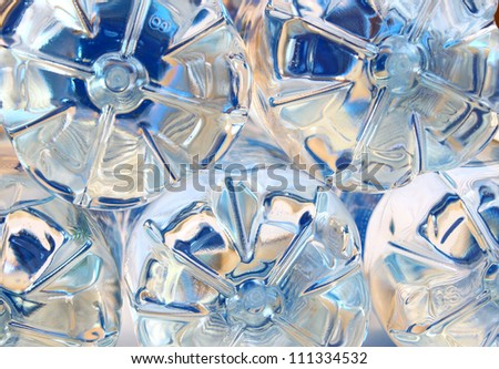 Water bottles - stock photo