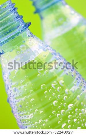 Water bottles - stock photo