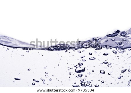 Water bubbles 1 - stock photo