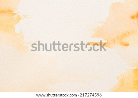 water color background - stock photo