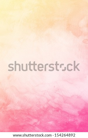 Water Color Background. Abstract art hand paint - stock photo