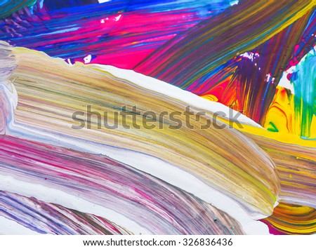 water color brush painting of arts background texture abstract