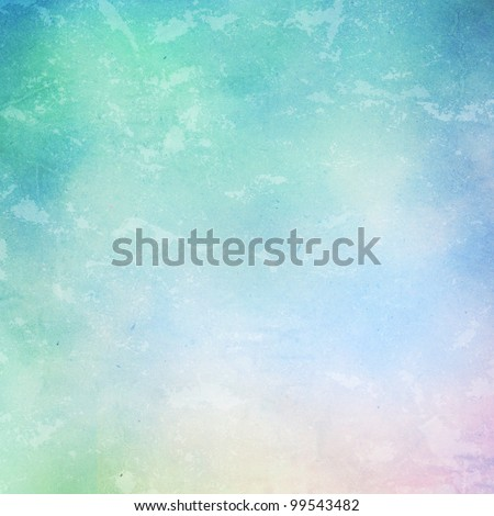 water color painted on grunge paper. - stock photo