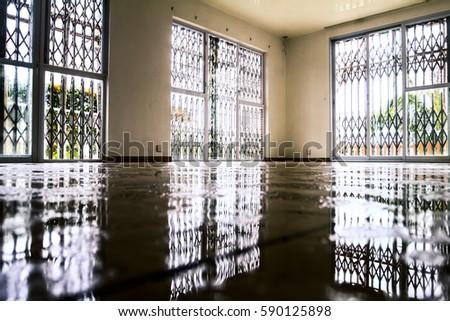 Water Damage Inside House Stock Photo 590125898 Shutterstock