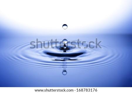 Water Drop, drops - stock photo