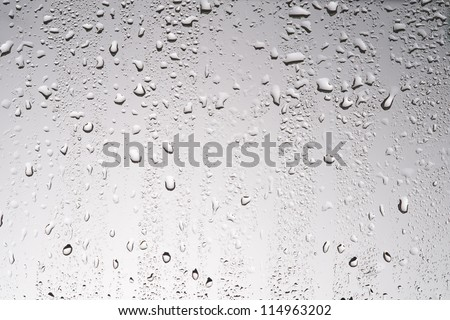 Water drop on white high resolution - stock photo