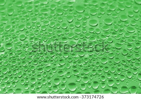 water droplets bottled drinking water. - stock photo