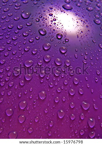 Water droplets High resolution photo. Can be used for the advertisements - stock photo