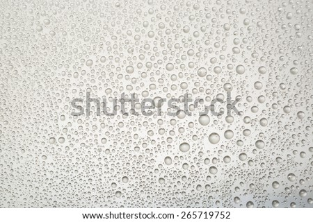 water drops on background  - stock photo