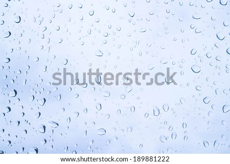 Water drops textrue background