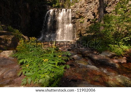 Water Fall - stock photo