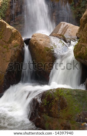 Water fall 3 - stock photo