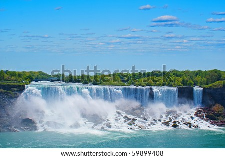 Water Falls - stock photo