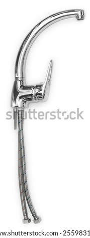 water faucet, kit - stock photo