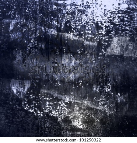 water-filled background - stock photo