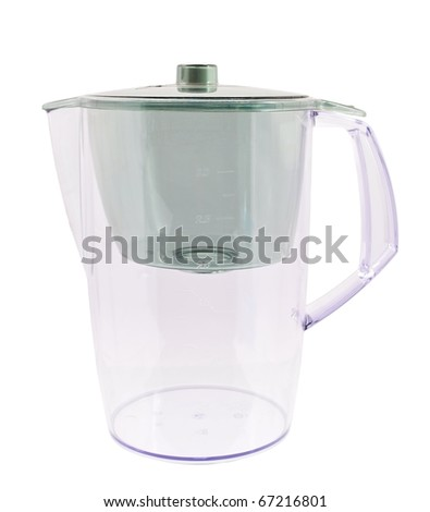 Water filter isolated