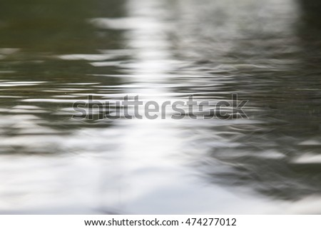 water flow  background