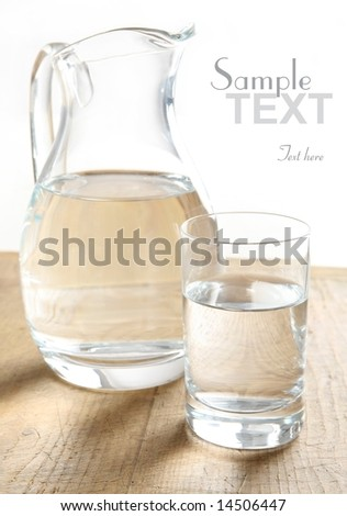water glass (easy to remove the text)