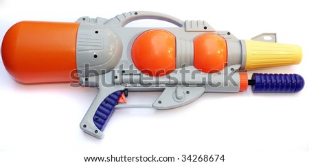 water gun - stock photo