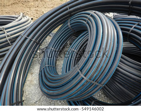 Water HDPE pipes