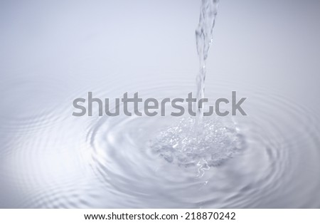Water images - stock photo
