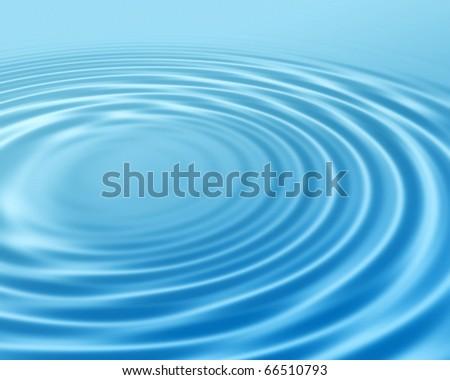 Water ripples - stock photo