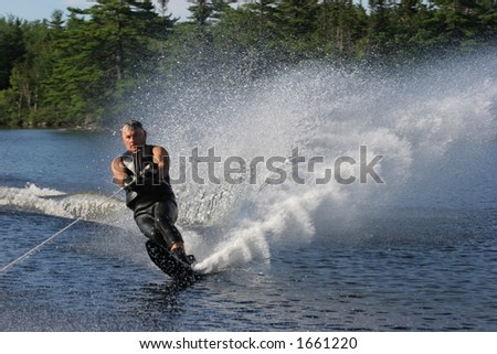 Water Ski - stock photo
