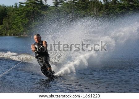 Water Ski - stock photo