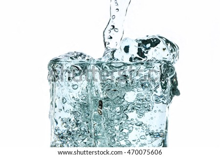 water splash - liquid wet wash splashing clear clean wave white gray background