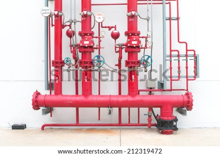 Water sprinkler system for fire fighting