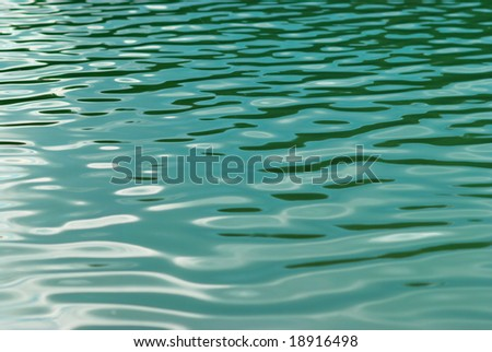 Water surface. - stock photo