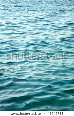Water surface - stock photo