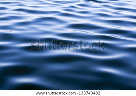 Water Surface Abstract - stock photo