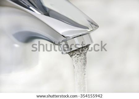 water tap  - stock photo